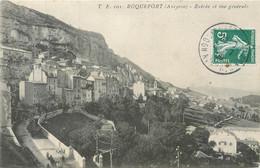 CPA 12 Aveyron Roquefort Entrée Et Vue Générale - Roquefort