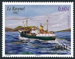 ST-PIERRE ET MIQUELON 2012 - Yv. 1025 **   Faciale= 0,60 EUR - Chalutier 'Ravenel'  ..Réf.SPM12543 - Unused Stamps