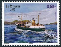 ST-PIERRE ET MIQUELON 2012 - Yv. 1025 **   Faciale= 0,60 EUR - Chalutier 'Ravenel'  ..Réf.SPM12545 - Unused Stamps