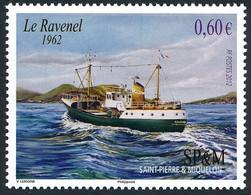 ST-PIERRE ET MIQUELON 2012 - Yv. 1025 **   Faciale= 0,60 EUR - Chalutier 'Ravenel'  ..Réf.SPM12546 - Unused Stamps