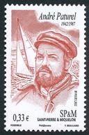 ST-PIERRE ET MIQUELON 2012 - Yv. 1049 **  - André Paturel, Navigateur  ..Réf.SPM12550 - Unused Stamps