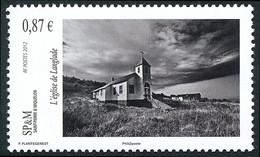 ST-PIERRE ET MIQUELON 2012 - Yv. 1033 **   Faciale= 0,87 EUR - Eglise De Langlade  ..Réf.SPM12548 - Unused Stamps