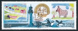 ST-PIERRE ET MIQUELON 2012 - Yv. 1051 **  - Art. Rencontre Avec Le Poitou  ..Réf.SPM12553 - Unused Stamps