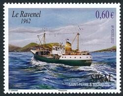 ST-PIERRE ET MIQUELON 2012 - Yv. 1025 NEUF   Faciale= 0,60 EUR - Chalutier 'Ravenel'  ..Réf.SPM12547 - Unused Stamps