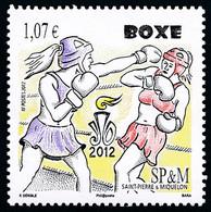ST-PIERRE ET MIQUELON 2012 - Yv. 1050 **  - Sport. Boxe  ..Réf.SPM12552 - Unused Stamps