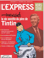 NUMERO SPECIAL DE L'EXPRESS HERGE LA VIE SECRETE DU PERE DE TINTIN - 1950 - Nu