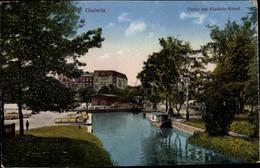 CPA Gliwice Gleiwitz Oberschlesien, Partie Am Klodnitz Kanal - Schlesien