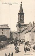 CPA 12 Aveyron Rodez St Amans L'Eglise Signée De L'Abbé Marty Vicaire - Rodez