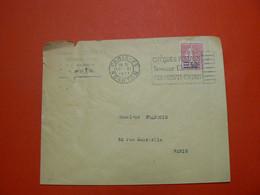 D 242 / N° 224  SUR LETTRE - Verzamelingen