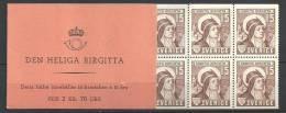 Carnet De Suède Neuf De 1941 N°C290a, Sainte Brigitte - 1904-50