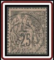 Guyane Française 1886-1915 - N° 23 (YT) N° 23 I (AM) Oblitéré De Cayenne. - Used Stamps