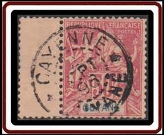 Guyane Française 1886-1915 - N° 40 (YT) N° 39 (AM) Oblitéré De Cayenne (1898). - Used Stamps