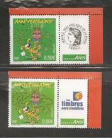France, Personnalisé, 3569A, Avec Vignette Cérès Et Personnalisés, Neuf **, TTB, Anniversaire, Marsupilami - Personalized Stamps