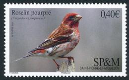 ST-PIERRE ET MIQUELON 2016 - Yv. 1148 **   Faciale= 0,40 EUR - Faune. Oiseaux. Roselin Pourpré  ..Réf.SPM12567 - Unused Stamps