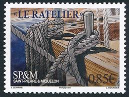 ST-PIERRE ET MIQUELON 2017 - Yv. 1184 **  - Bateaux. Vieux Gréements. Râtelier Et Cabillot  ..Réf.SPM12570 - Unused Stamps