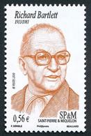 ST-PIERRE ET MIQUELON 2010 - Yv. 1190 **  - Richard Bartlett, Présentateur Radio  ..Réf.SPM12573 - Unused Stamps