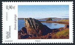 ST-PIERRE ET MIQUELON 2013 - Yv. 1059 **   Faciale= 0,90 EUR - Histoire De Géologie  ..Réf.SPM12556 - Unused Stamps
