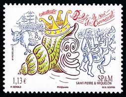 ST-PIERRE ET MIQUELON 2013 - Yv. 1060 **  - Bulot, Roi Du Carnaval  ..Réf.SPM12557 - Unused Stamps