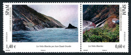 ST-PIERRE ET MIQUELON 2014 - Yv. 1109 Et 1110 **   Faciale= 2,00 EUR - Les Voiles Blanches (2 Val.)  ..Réf.SPM12564 - Unused Stamps