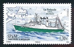 ST-PIERRE ET MIQUELON 2013 - Yv. 1066 **   Faciale= 1,30 EUR - Bateau. Chalutier 'La Finlande'  ..Réf.SPM12558 - Unused Stamps
