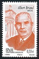 ST-PIERRE ET MIQUELON 2014 - Yv. 1103 **  - Albert Briand, Homme Politique  ..Réf.SPM12563 - Unused Stamps