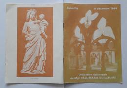 88 SAINT DIÉ 1984 Ordination P-M GUILLAUME - Religión & Esoterismo