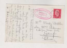GERMANY 1932  FRIEDRICHSHAFEN Nice  Postcard To Switzerland GRAF ZEPPELIN - Covers & Documents