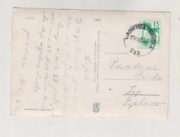 YUGOSLAVIA 1964 Nice Postcard AMB TRAIN Cancel VIROVITICA-NOVSKA - Covers & Documents