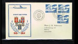 1961 - Europe NORDEN FDC Sweden Mi.467A+DlDr - Cancel Stockholm [WK052] - 1961