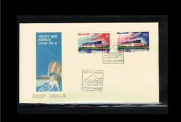 1973 - Europe NORDEN FDC Iceland Mi.478-79 - Issue Frimaerke Nyt - Cancel Reykjavik [WK101] - 1973