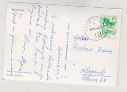 YUGOSLAVIA 1964 Nice Postcard SHIP Cancel KOTOR-RIJEKA - Covers & Documents