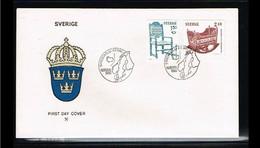 1980 - Europe NORDEN FDC Sweden Mi.1115-16 - Issue N - Cancel Stockholm [WK146] - 1980