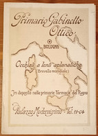 CATALOGO PUBBLICITARIO 1930 - DEPLIANT ILLUSTRATO CON LISTINO PREZZI DI OCCHIALI E LENTI - Advertising