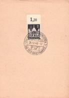 ALLIIERTE BESETZUNG - SONDERSTEMPEL TAG DER BRIEFMARKE 1948 //GA21 - Zone AAS