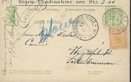 Luxembourg - Luxemburg - Carte-Postale - Postkarten  1887 - Grossherzl.Geflügelzucht-Verein , Luxemburg - 2 Scans - Stamped Stationery