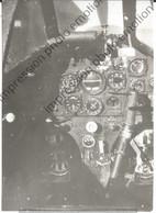 PHOTO AVION  RETIRAGE REPRINT     COCKPIT Messerschmitt Bf 109 - Aviazione