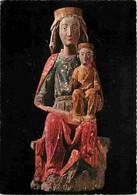 07 - Thines - L'Eglise - Vierge à L'enfant - Art Religieux - CPM - Voir Scans Recto-Verso - Other Municipalities