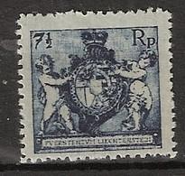 Liechtenstein 1921 (gezähnt L 12,5) MiNr. 49B MLH/* Ungebraucht - Unused Stamps