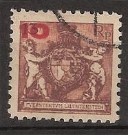 Liechtenstein 1924 MiNr. 62A (Yv 62) - Used/gestempelt - Used Stamps