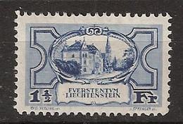 Liechtenstein 1925/1927 MiNr. 71 (Yvert 71) Sehr Schön MLH/* Ungebraucht - Unused Stamps