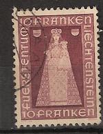 Liechtenstein 1941 MiNr. 197 (Yv 172) Canceled/gebraucht - Used Stamps