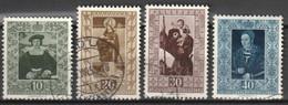 Liechtenstein 1953 MiNr. 311-314 Gebraucht, Used, Canceled. See Description - Used Stamps