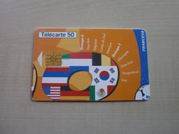 Télécarte Ancienne COUPE DU MONDE FRANCE 1998 - Andere