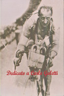 CARLO GALETTI, La Fiamma Rossa, Ciclismo. Ciclista. Corsico. 196p - Cycling