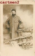 CARTE PHOTO : SOLDAT DU 132e REGIMENT D'INFANTERIE BELFORT ? GUERRE MILITARIA MONTAGE PHOTO SURREALISME - War 1914-18