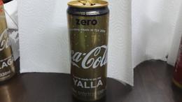 Israel-coca Cola-yalla-zero-(330ml)-used - Cannettes