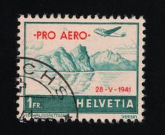 1941 Pro Aero Mi CH 395 Sn CH C35 Yt CH PA34A Sg CH 423 Zum CH F35 Gest. O - Usados
