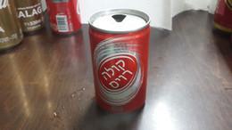 Jordan-cola Ravis-imported By Albadawee Company Palestine Nablus-arab-used - Cannettes