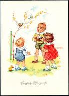 E4794 - TOP Lungers Hausen Glückwunschkarte - Kinder  - Verlag Carl Werner Reichenbach - Compleanni