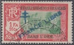 Inde Française - N° 164 (YT) N° 212 II (AM) Oblitéré. - Used Stamps